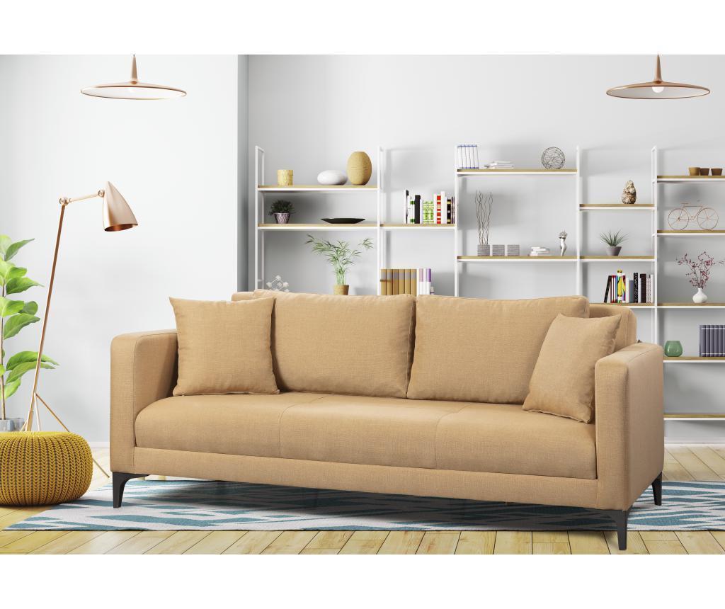 Rozkładana kanapa 3-osobowa Gauge Concept Light Brown