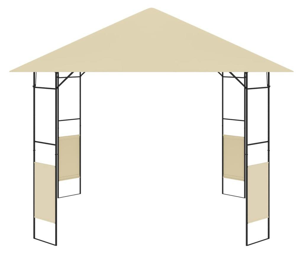 Altana ogrodowa, 3 x 3 x 2,6 m, kremowa, 160 g/m²