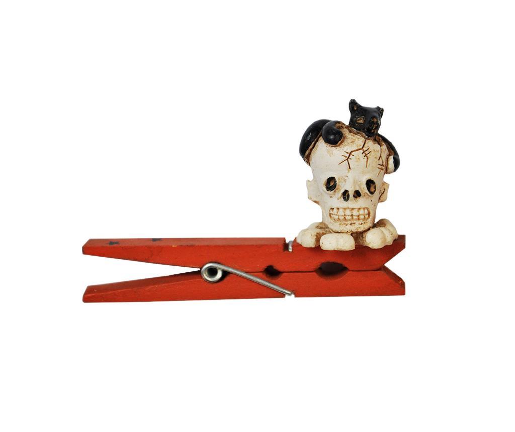 Halloween Skull Díszkapocs