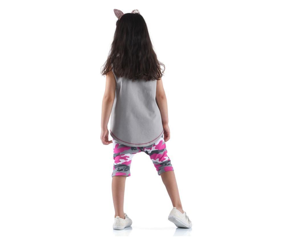 Set pantaloni trei sferturi si tricou  4 ani
