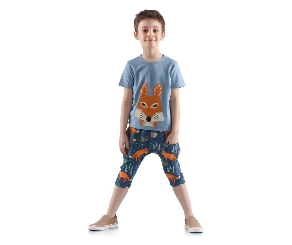 Set pantaloni trei sferturi si tricou  6 ani