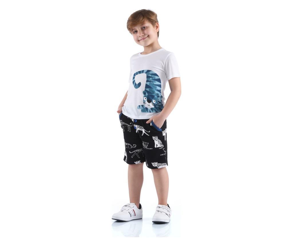 Set pantaloni trei sferturi si tricou  3 ani
