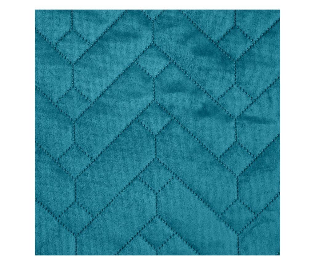 Prošivena navlaka za fotelju Luiz Dark Turquoise 70x160 cm