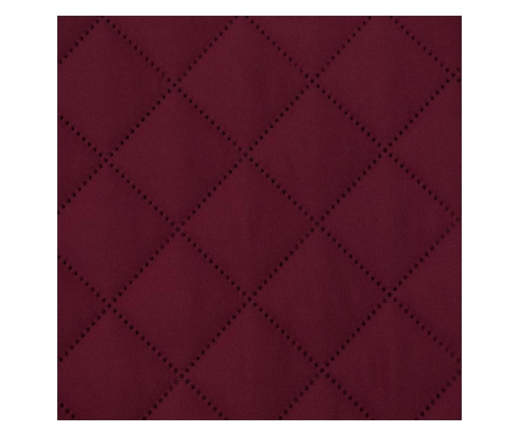Prošivena navlaka za fotelju Alara Burgundy 70x160 cm