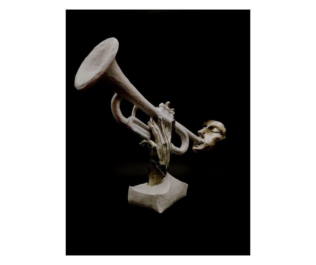 Figurina/statueta Muzician Cu Trompeta