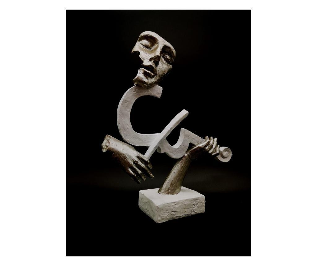 Figurina/statueta Muzician Cu Vioara