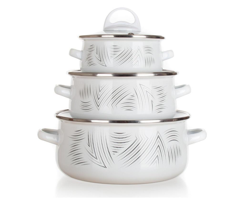 Set vase pentru gatit 6 piese Banquet