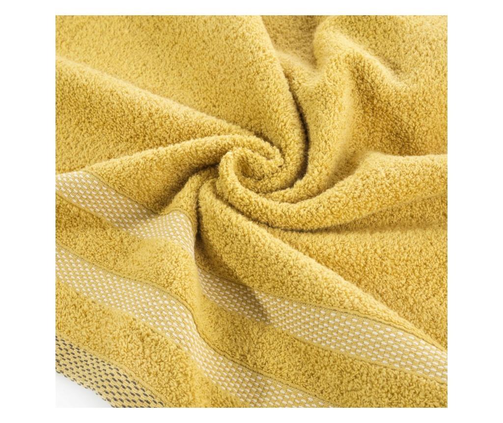 Kupaonski ručnik Riki Yellow 70x140 cm