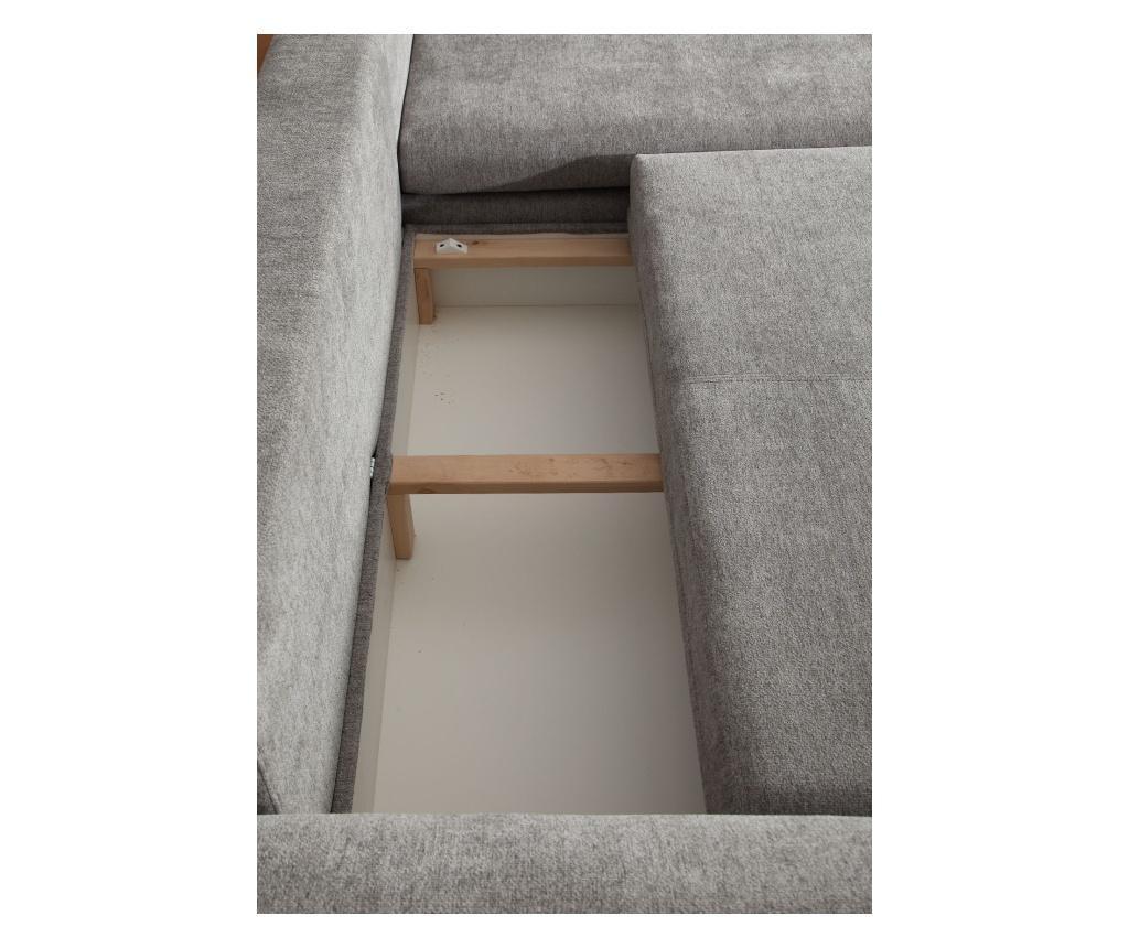 Mika Jobboldali kihúzható sarokkanapé 130x205 cm