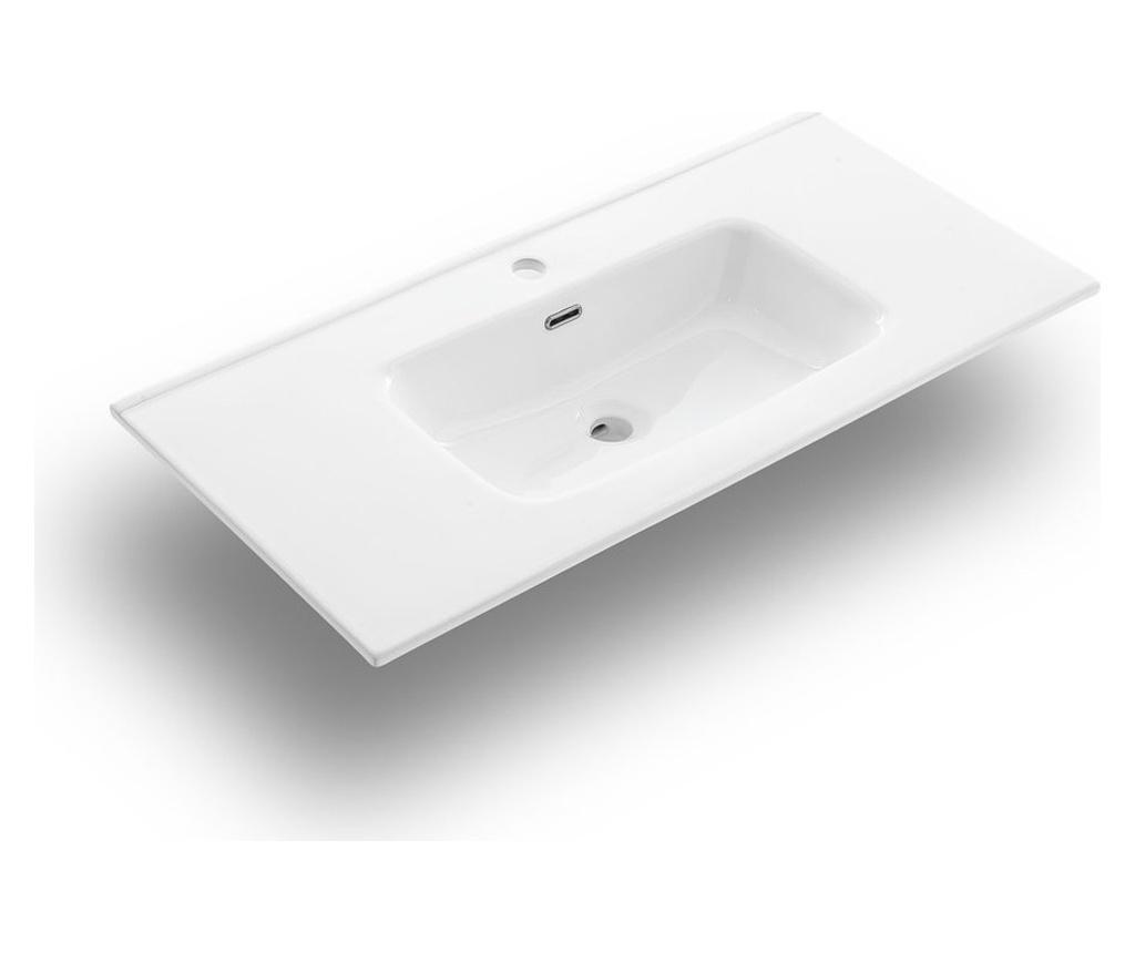 Zestaw mebli łazienkowych 4 części Malmo