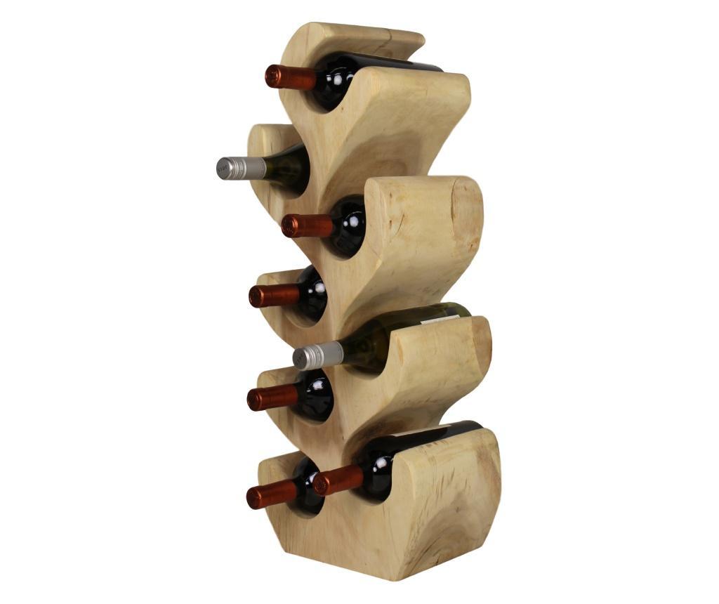 Suport pentru sticle Natural Wood Collection M