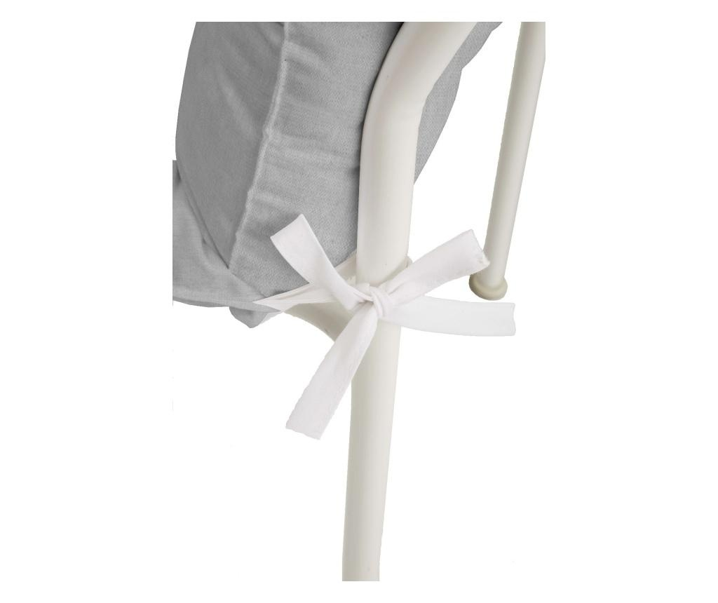 Perna de scaun Rustic Grey 50x125 cm