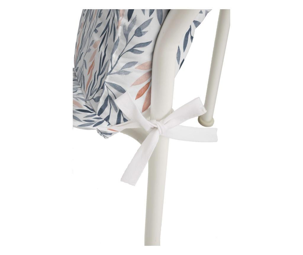 Perna de scaun Almeria Blue 50x125 cm