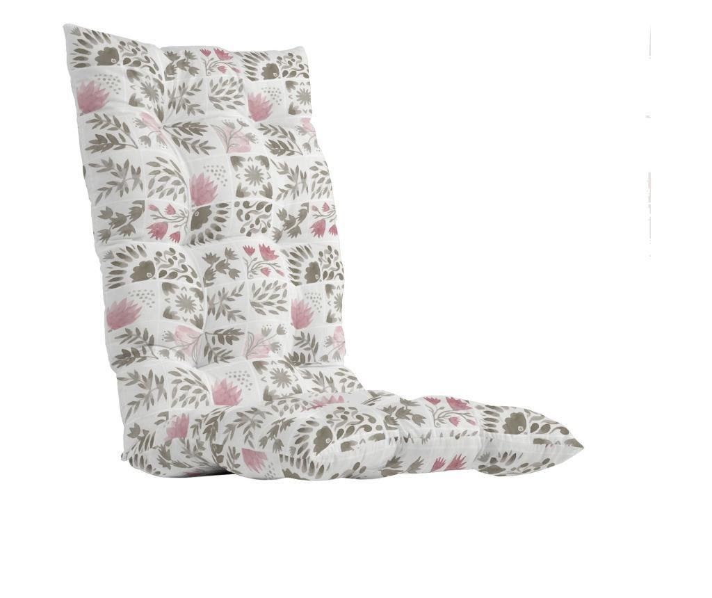 Perna de scaun Puzzle Rosa 50x125 cm
