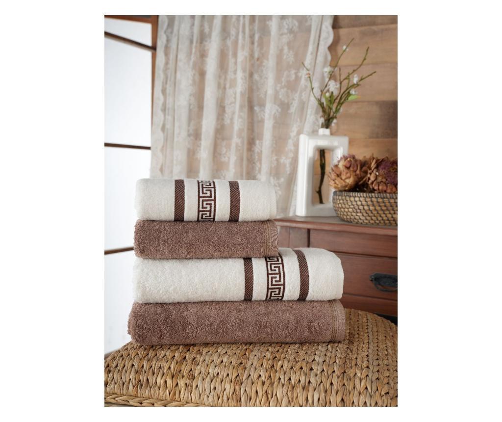 Zestaw 4 ręczników kąpielowych Nicola Brown