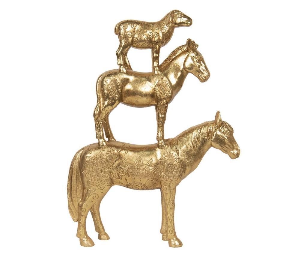 Figurine din polirasina aurie animale 30x8x40 cm