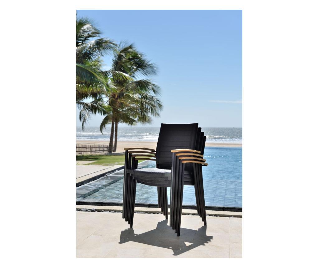 Krzesło do jadalni na zewnątrz Portals Range Bmb