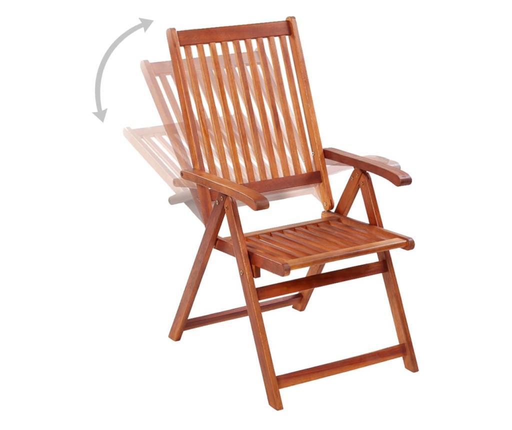 Składane krzesła ogrodowe, 6 szt., lite drewno akacjowe
