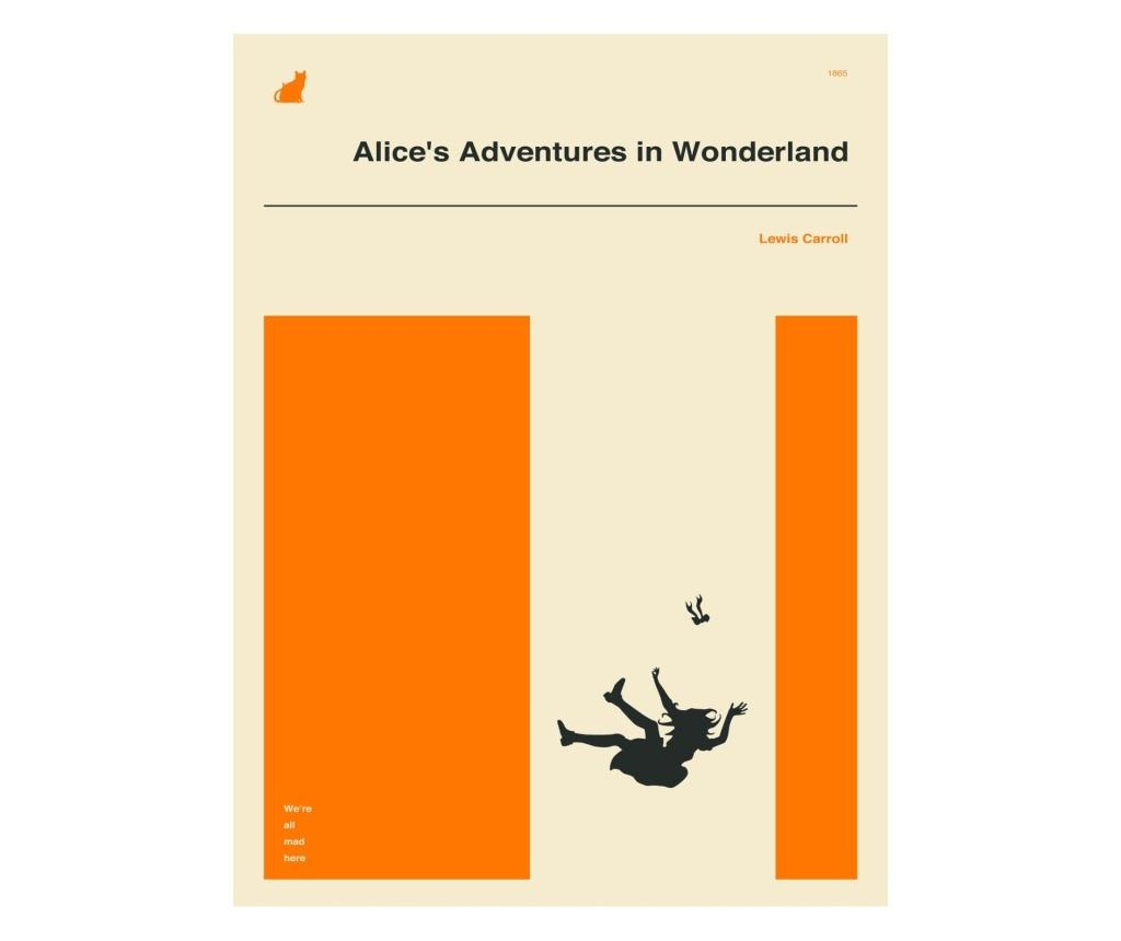 Plakat Alice in Wonderland 30x40 cm