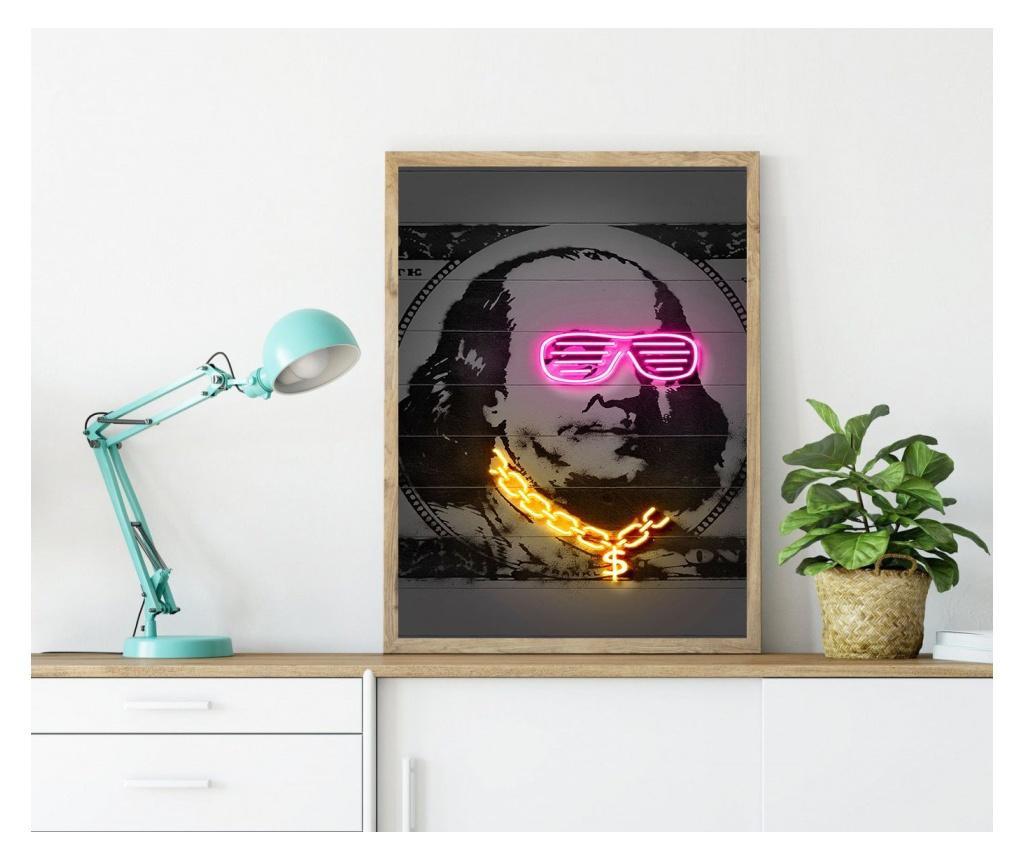 Plakat Franklin 30x40 cm