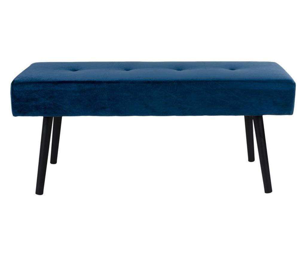Bancheta Skiby Velvet Dark Blue