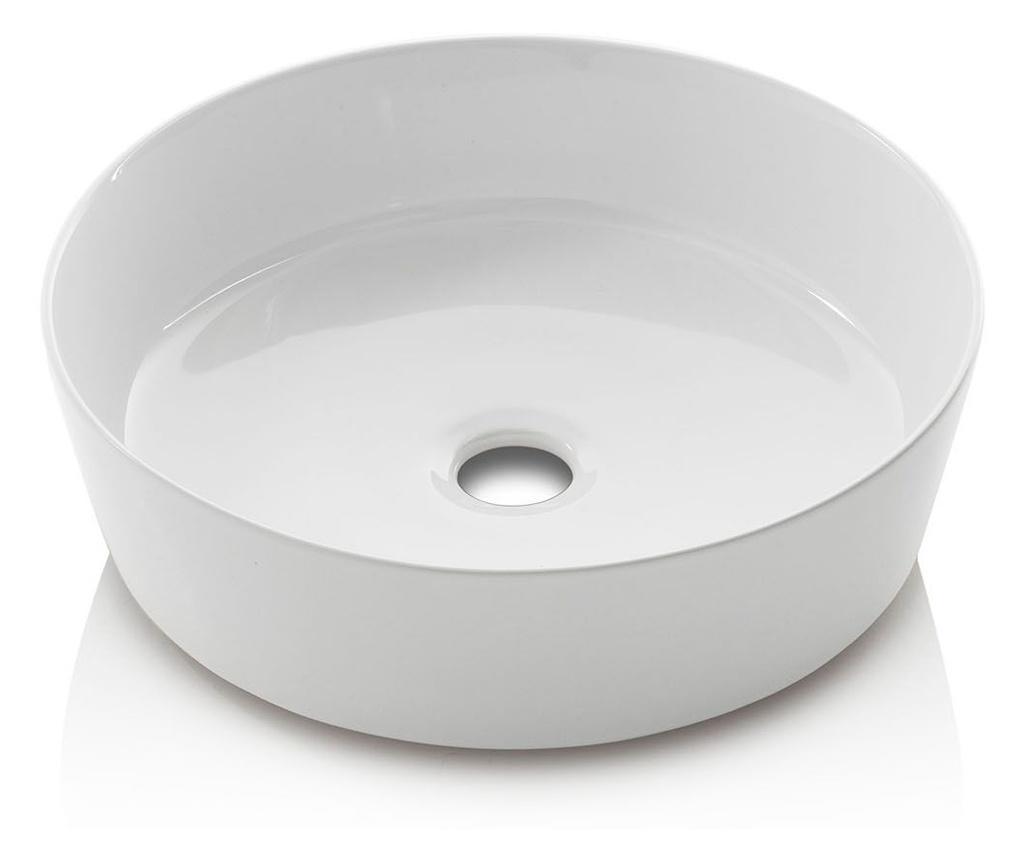Zestaw mebli łazienkowych 5 części Yoka Light Brown & White