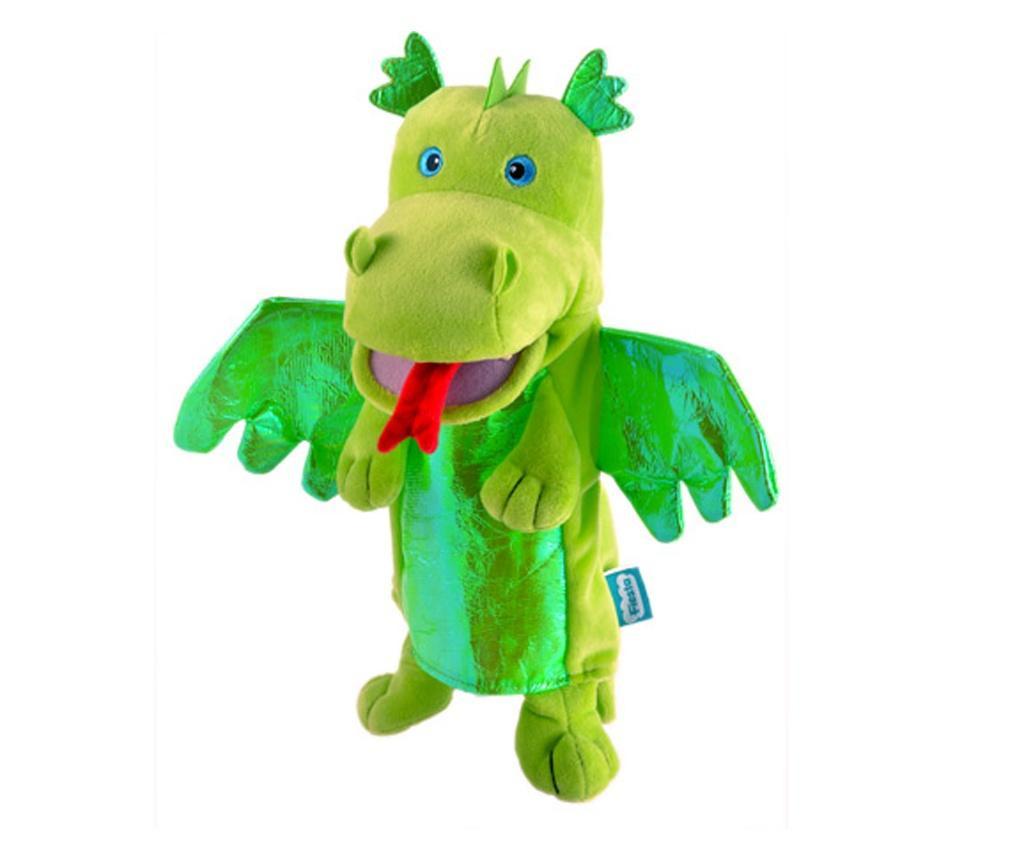 Personaj teatrul de papusi - Dragonul / Green Dragon - Fiesta Crafts
