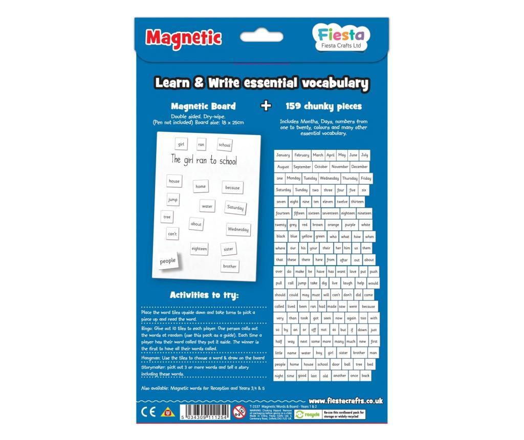 Activitati cu litere magnetice pentru incepatori / Magnetic words Board for year 1-2