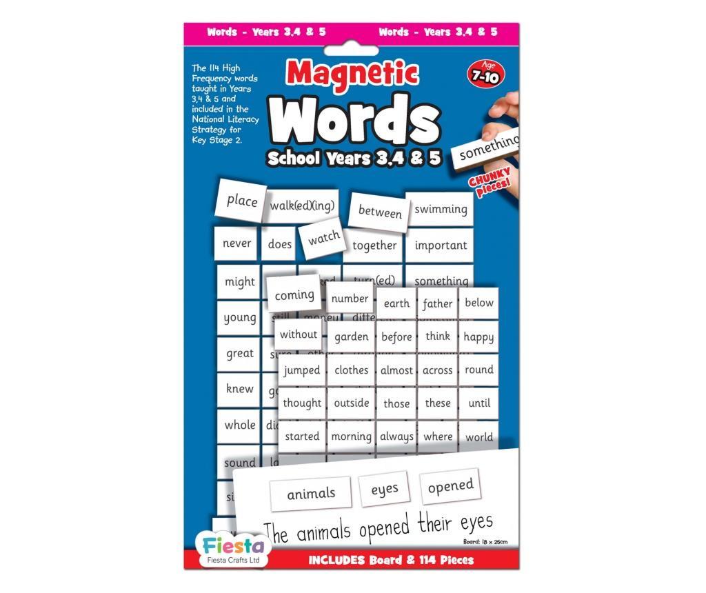 Activitati cu litere magnetice pentru avansati / Magnetic words & board for year 3,4 & 5