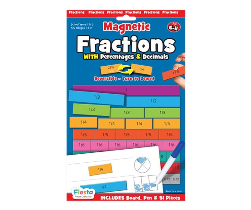 Joc educativ Fractii / Fractions Fiesta Crafts