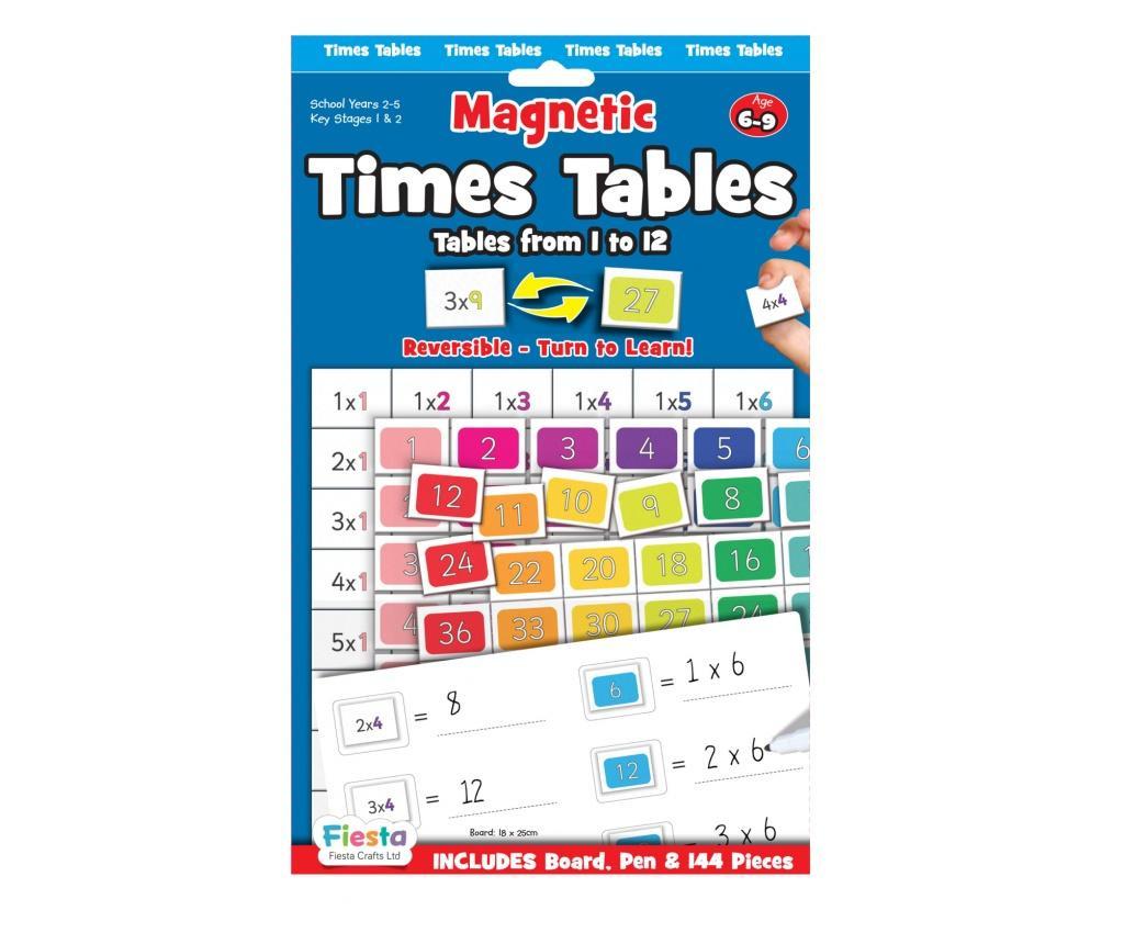 Joc educativ Tabla inmultirii / Times Table Fiesta Crafts