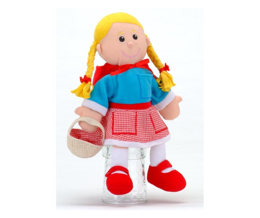Set Papusa si marionete Scufita Rosie / Red Riding Hood - Fiesta Crafts
