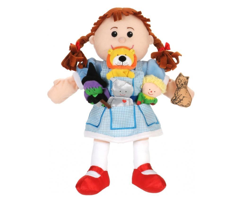 Set papusa si marionete Vrajitorul din Oz / Wizzard of Oz - Fiesta Crafts