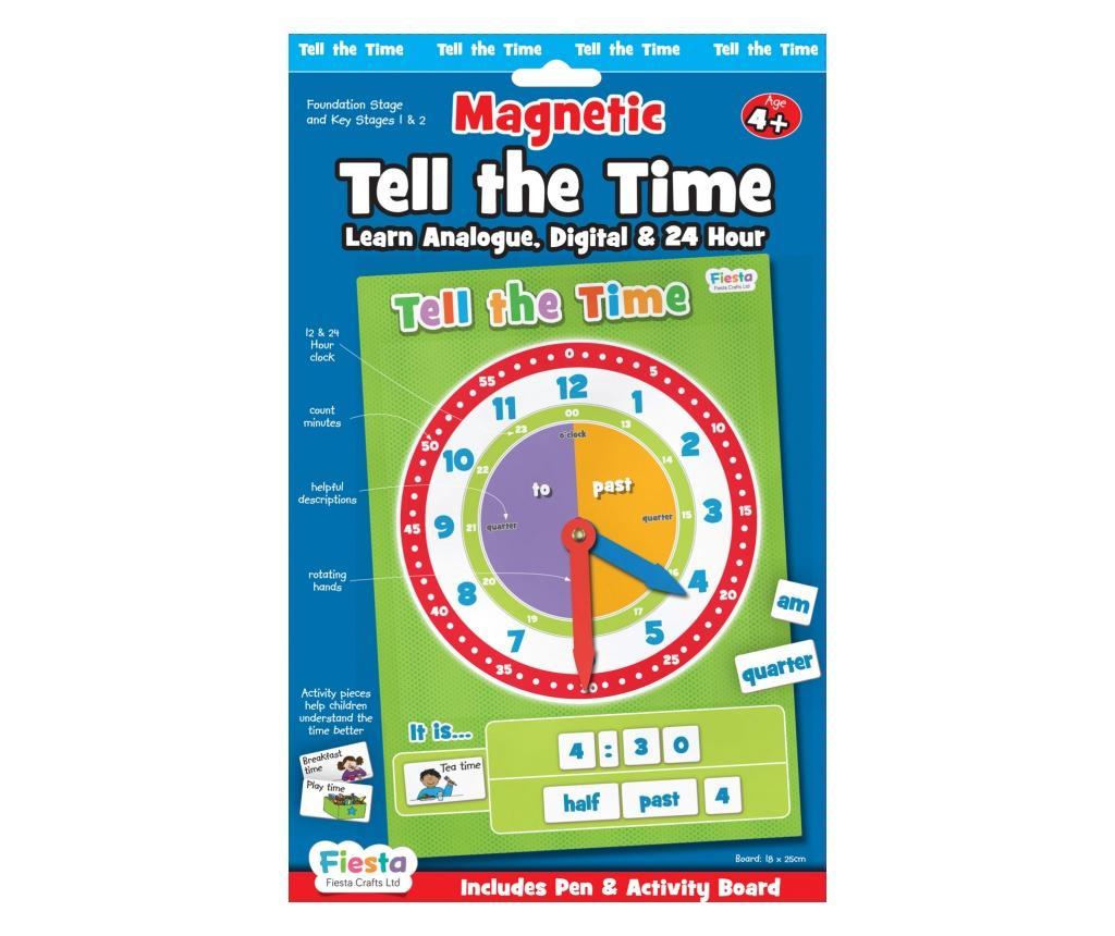Joc educativ Cat e ceasul? / Tell the time Fiesta Crafts