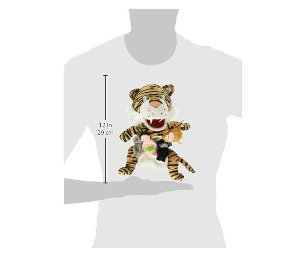 Set papusa si marionete - Cartea Junglei / Jungle book hand&finger puppet set
