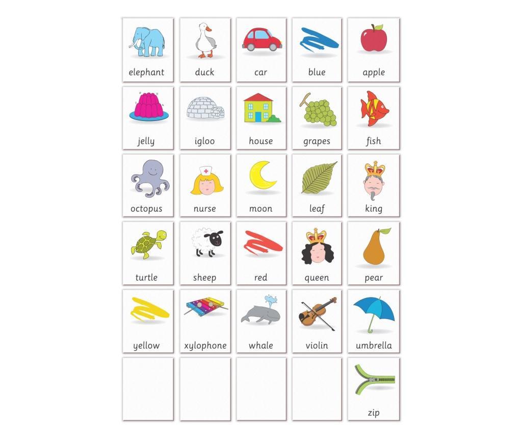 Joc educativ Primele notiuni de scris - Litere / First Writing - Fiesta Crafts