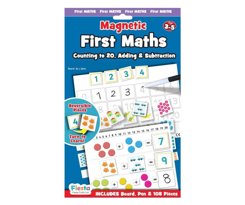 Joc educativ Primele notiuni de matematica / First Maths - Fiesta Crafts