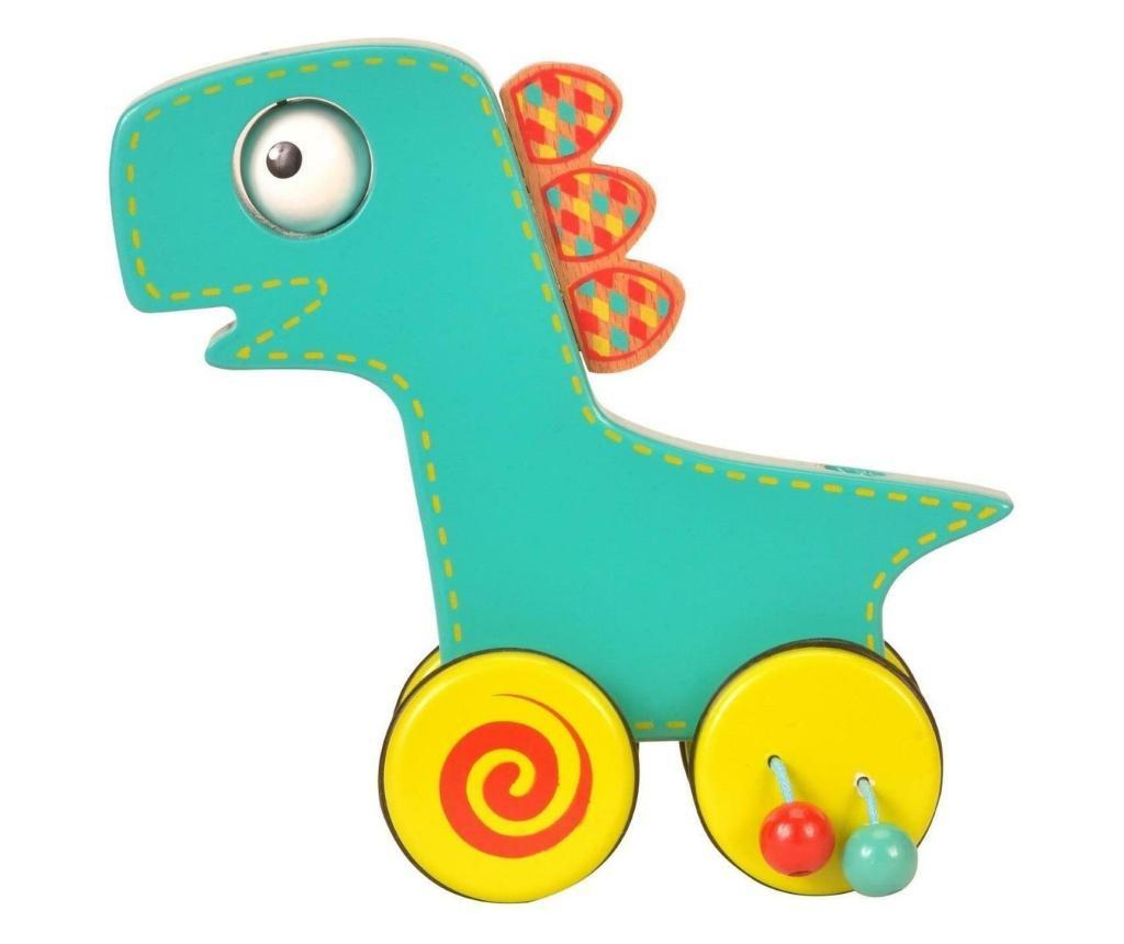 Jucarie de impins Dinozaur / Push N roll along Dinosaur