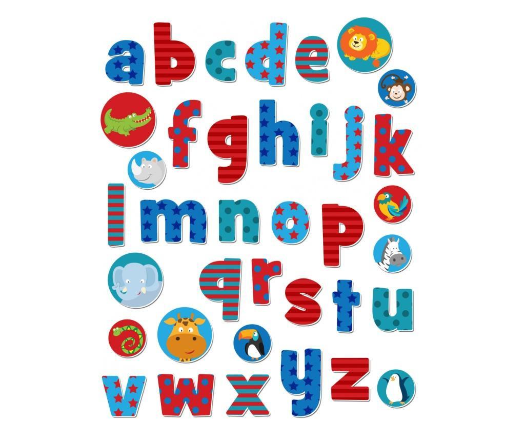 Stickere cu litere / Wild Animals Alphabet Stickabouts