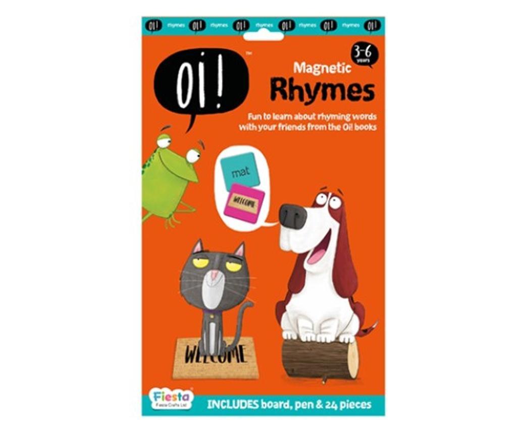 Joc educativ magnetic Rime / Oi ! Rhyming