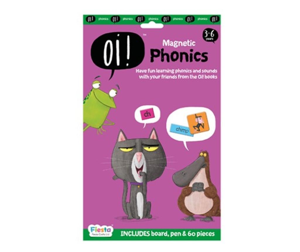 Joc educativ magnetic Fonetica / Oi ! Phonics