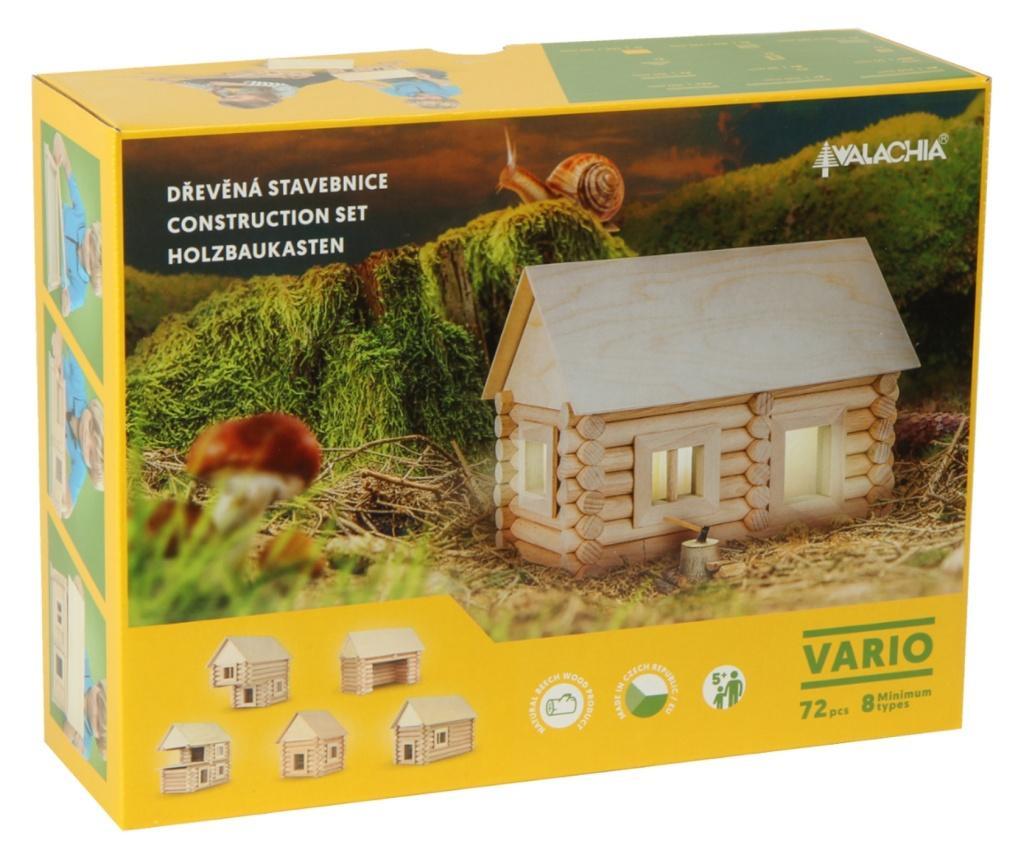Set de construit Vario 72 piese - joc educativ Walachia