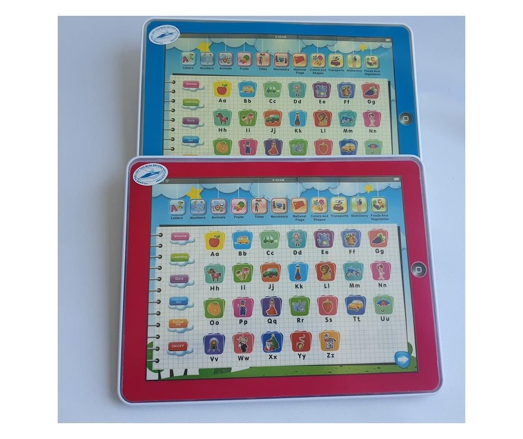 Tableta Multifunctionala 11 in 1 in Limba Engleza - Albastru  25x20 cm