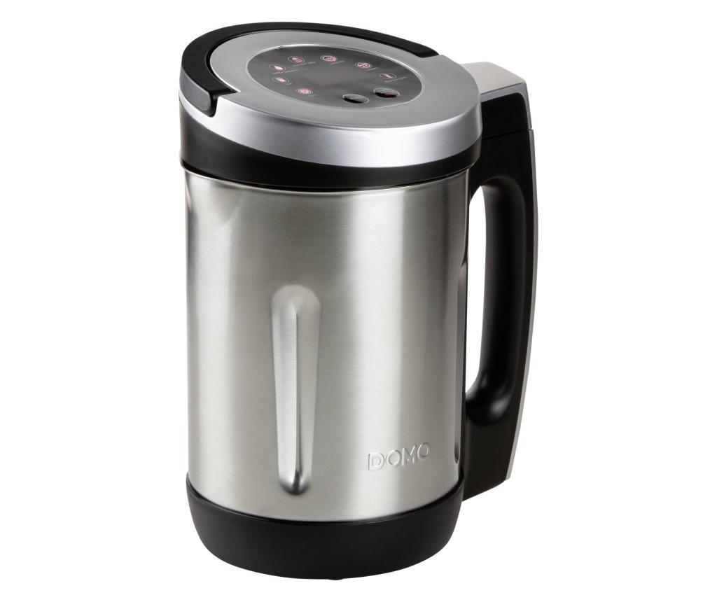 kuhalo za vodu DOMO DO716BL plemeniti čelik, crna