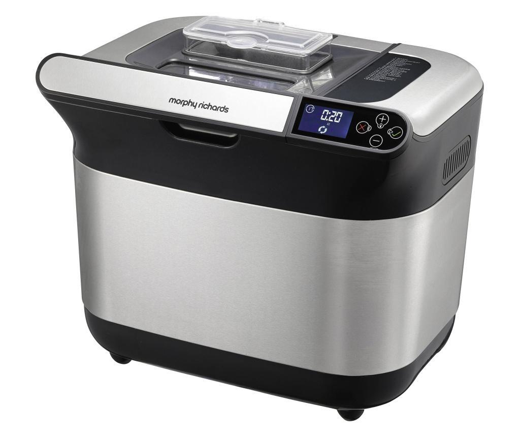 aparat za pečenje kruha  Morphy Richards Premium Plus plemeniti čelik, crna