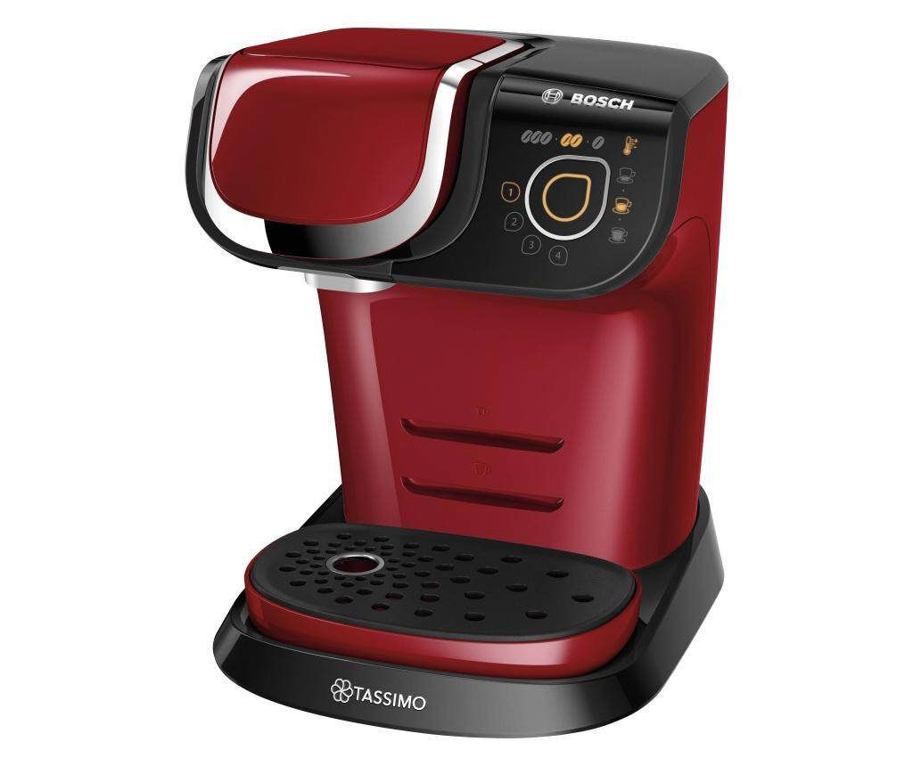 Bosch Haushalt TASSIMO MY WAY 2 TAS6503 aparat za kavu s kapsulama crvenacrna uklj. sredstvo za uklanjanje kamenca