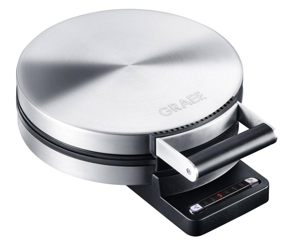 Graef HE80 uređaj za pečenje vafli sklopivi plemeniti čelik